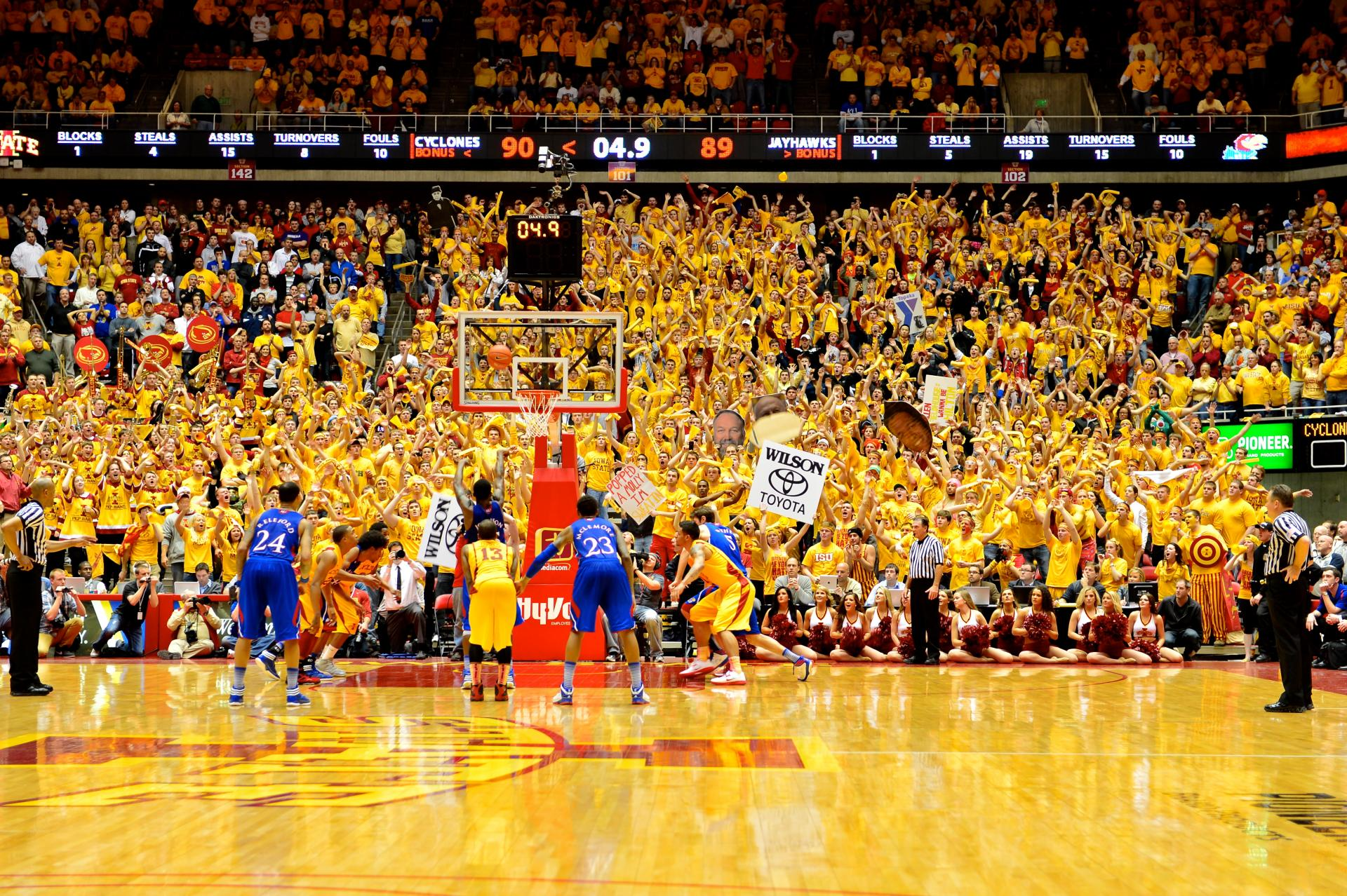 competitive price f0b42 81745 An oral history of the Iowa State and Kansas rivalry